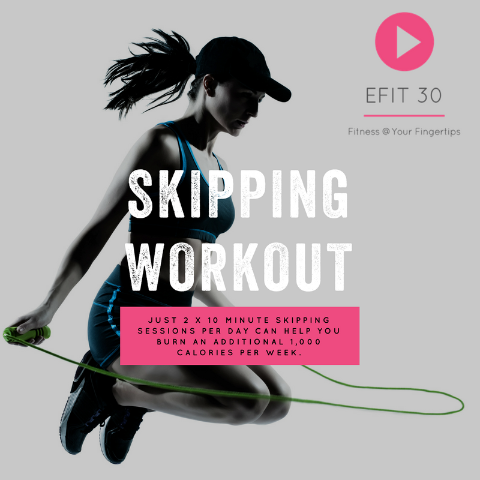 Skipping - How to Boost Your Burn