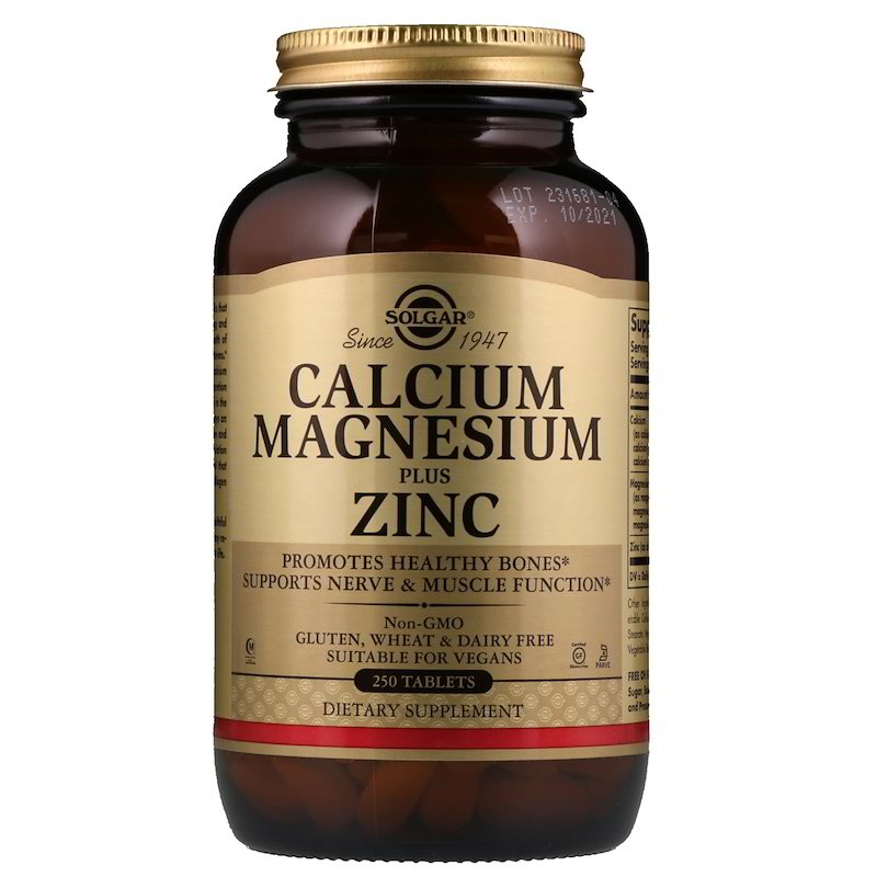 best calcium magnesium and zinc supplement