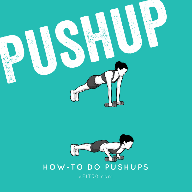 eFIT30 Workout How-To Pushup
