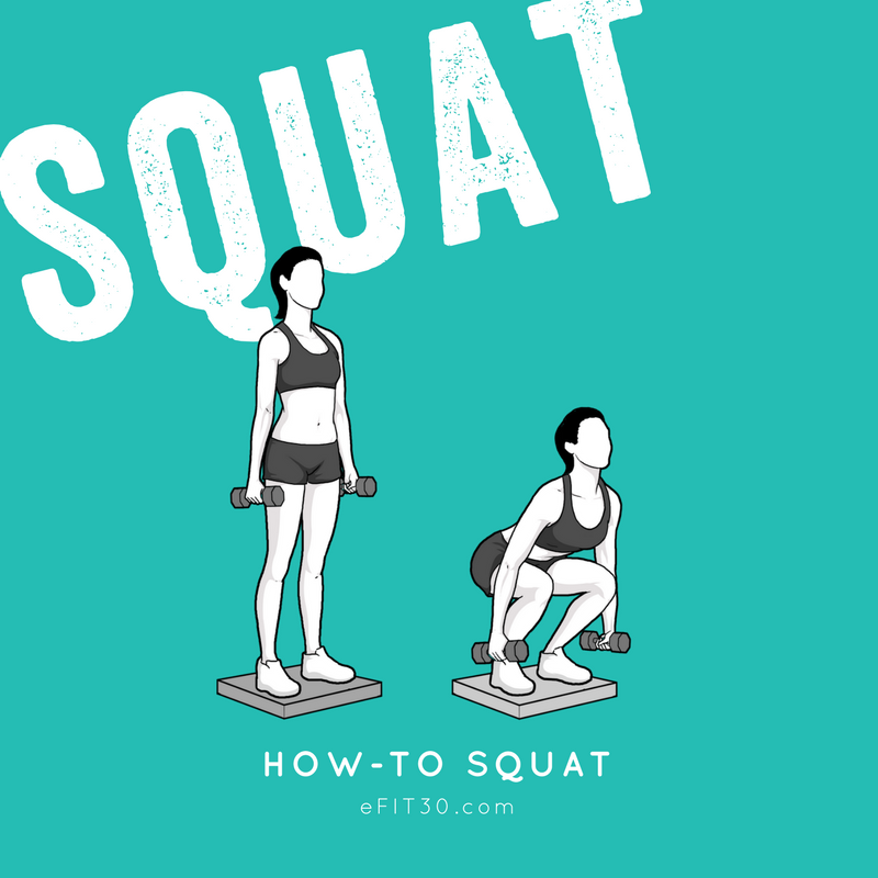 eFIT30 Workout How-To Plie Squat