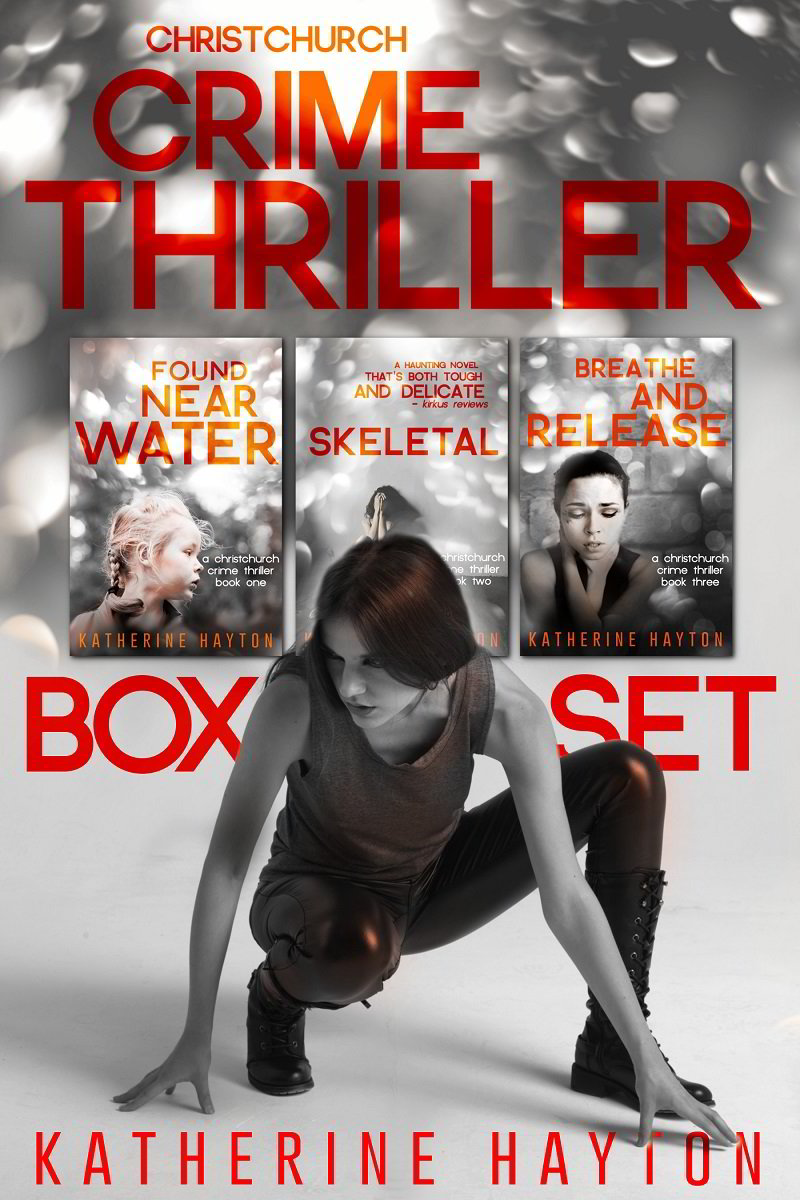 Crime Thriller Boxset Cover