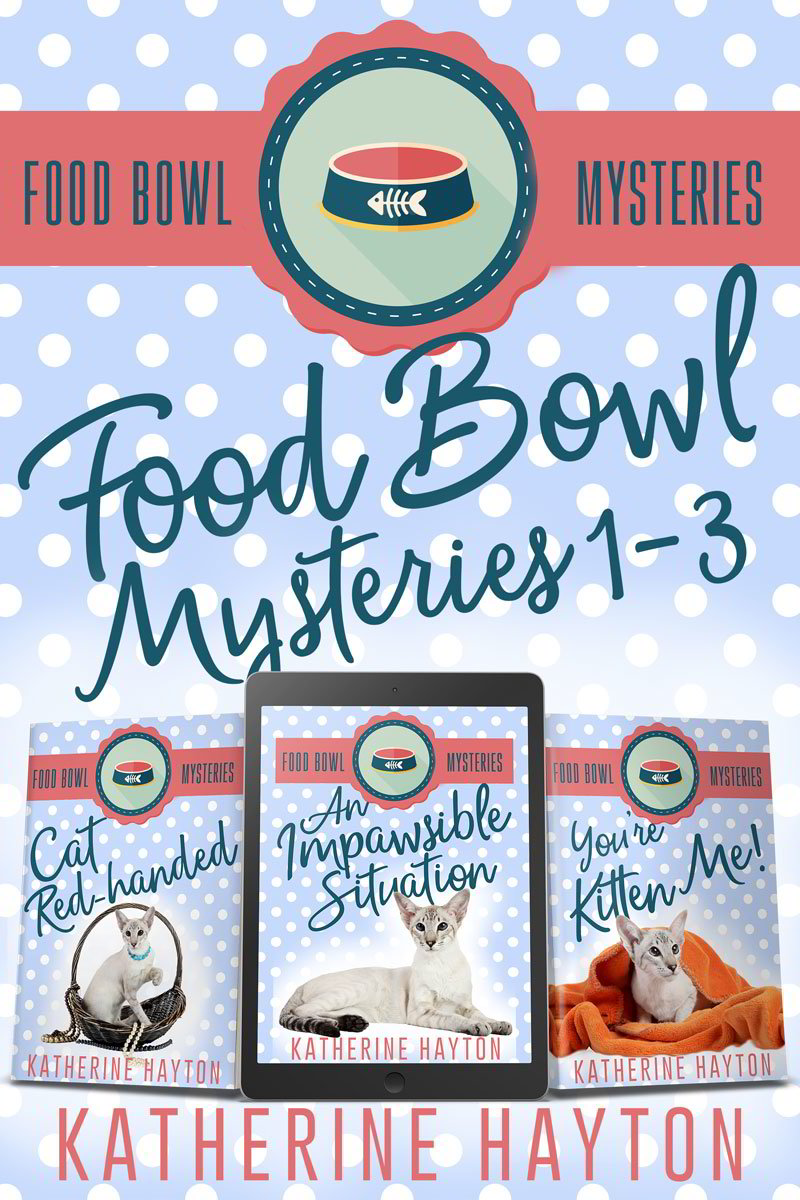 Food Bowl Mysteries 1-3 Cover