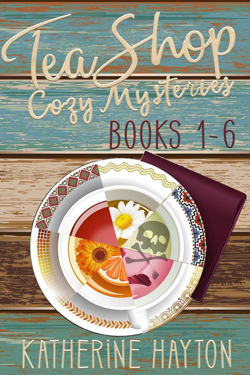 Cover Tea Shop Cozy Mystery Books 1-3