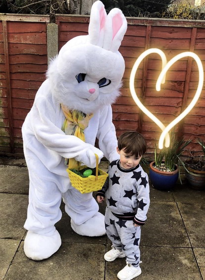 easter bunny, essex, little party monkeys