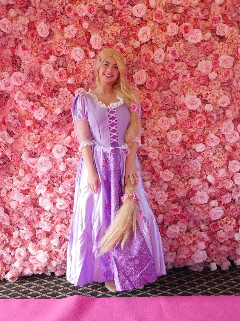 princess rupunzel, princess party, princess visit essex