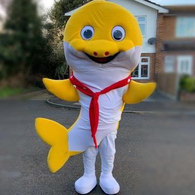 baby shark, character mascots, essex, hertfordshire, london, kent, hire, little party monkeys