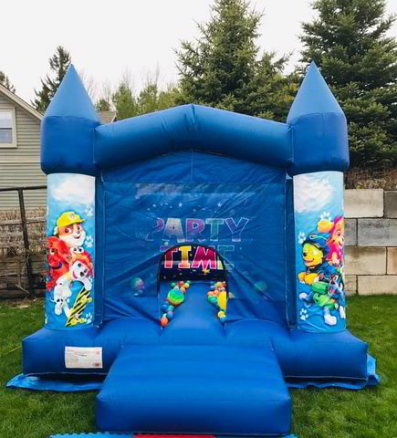 13' x 11' Paw Patrol Bouncy Castle Rental