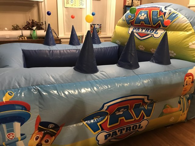 Paw Patrol™ Ball Pit Rental with Air Jugglers