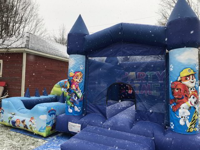 Paw Patrol Bouncy Castle Rental