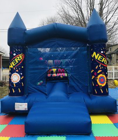 13' x 11' Nerf Bouncy Castle Rental