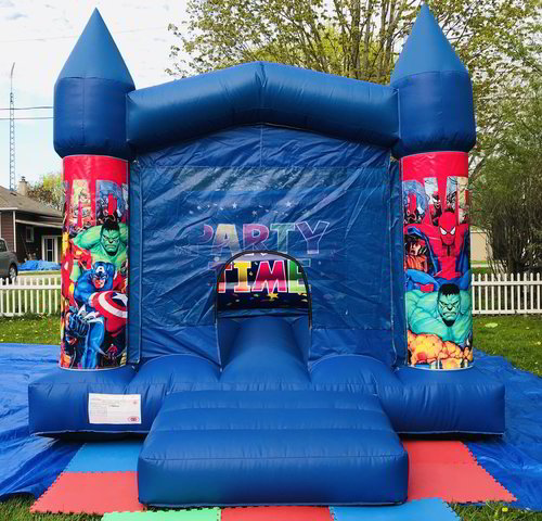 11' x 13' Super Hero Bouncy Castle