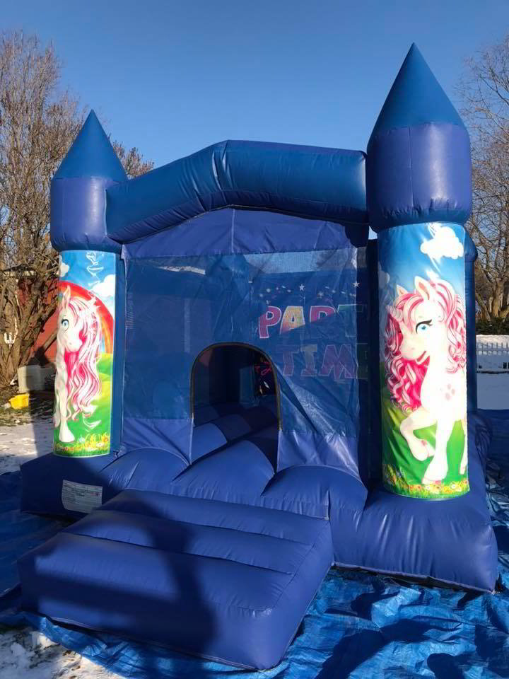 13' x 11' Unicorn Bounce House Rental