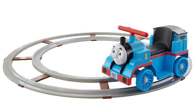 Thomas the Train Power Wheels with Track