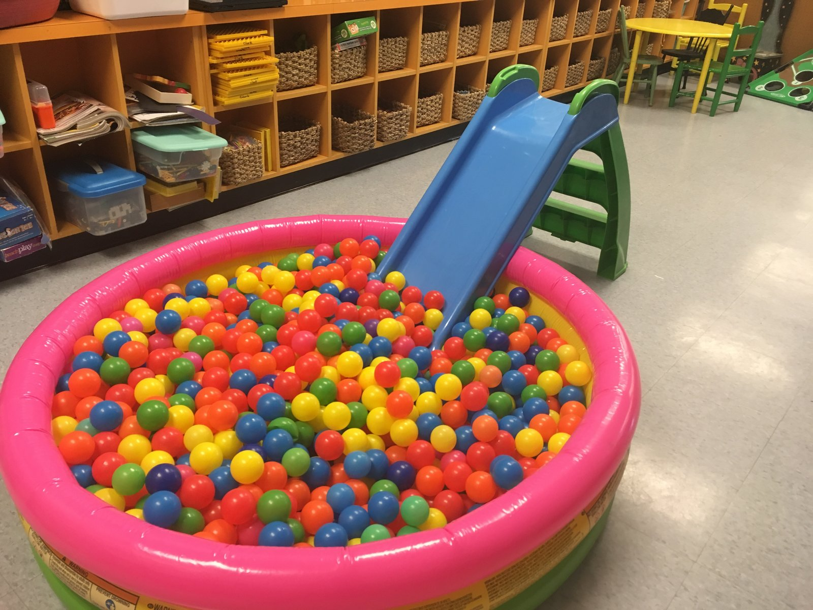 Ball Pit, 600+ Balls and Junior Slide Rental