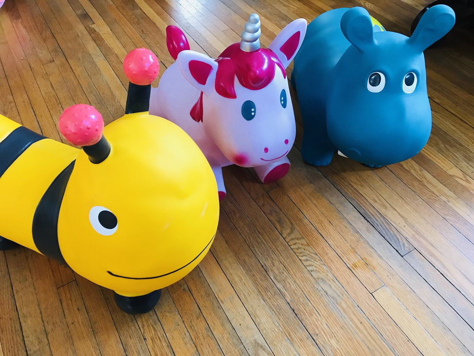 Bumblebee, Hippo and Unicorn Hopper Rental (Set of 3)