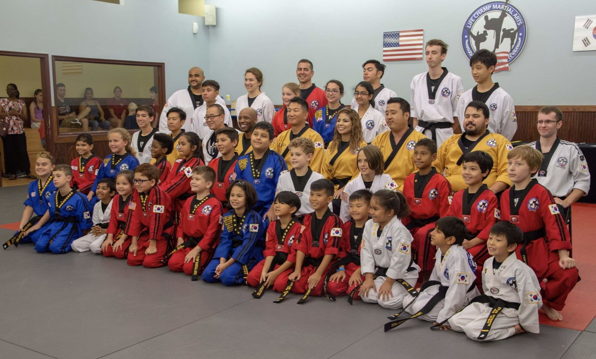 Life Champ Martial Arts Kids program