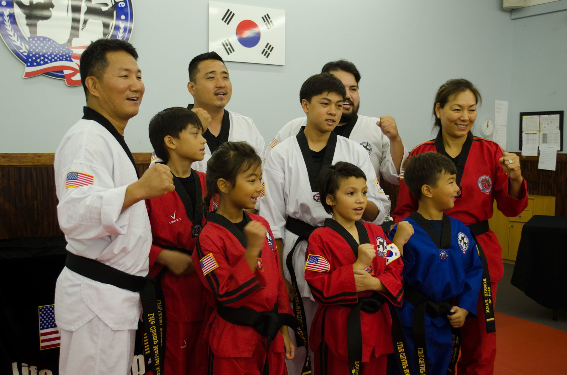Teens and adults martial arts
