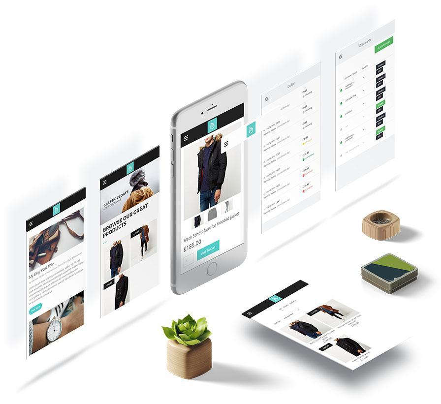 mobile responsive store