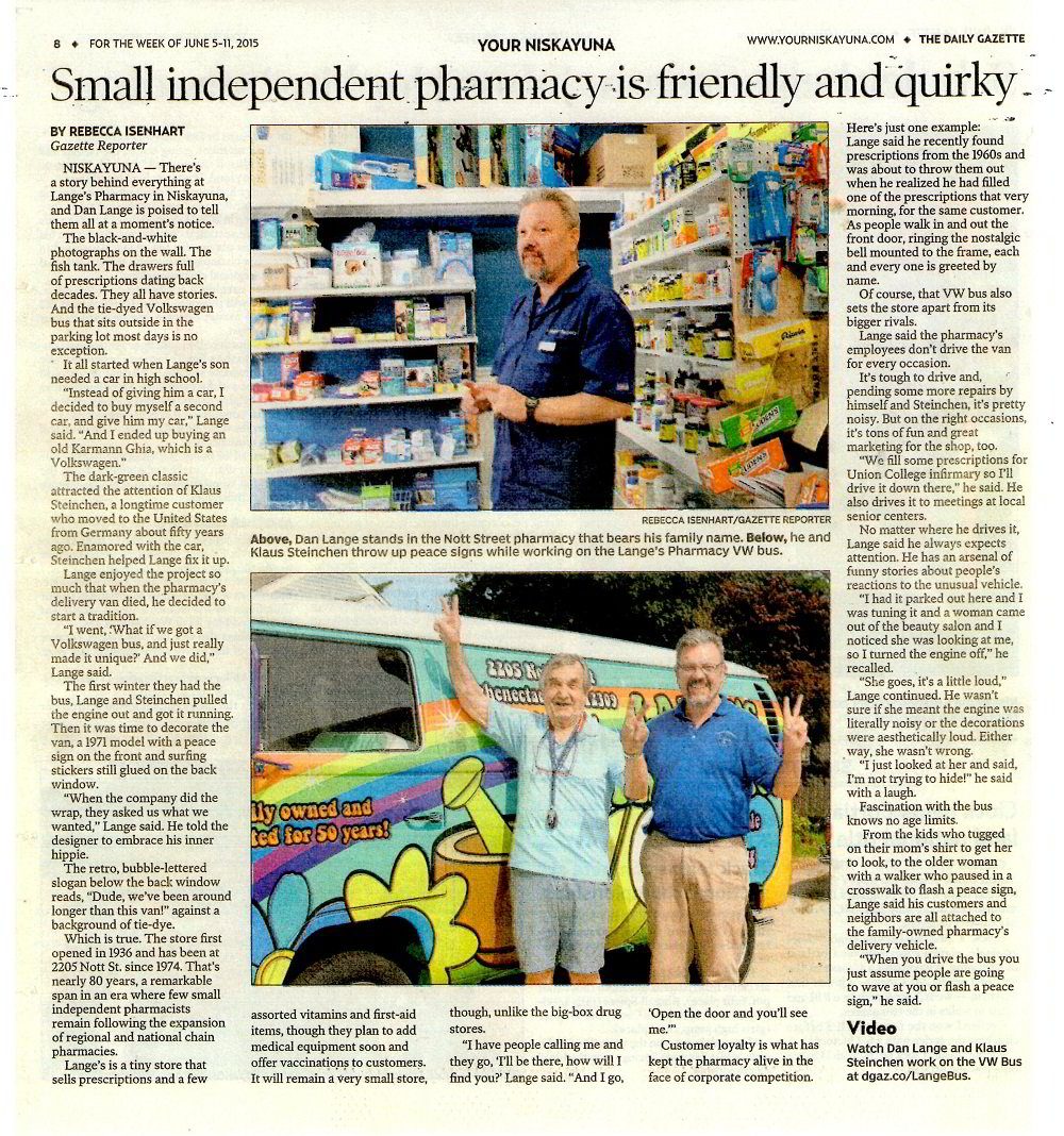 Small independent pharmacy iss friendly and quirky news article