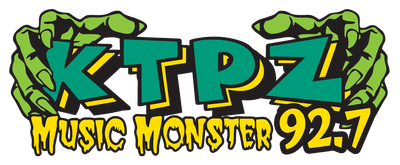 KTPZ Music monster Radio Station Logo