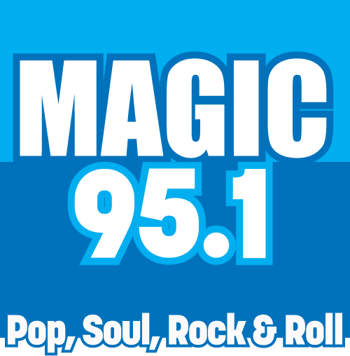 Magic 95.1 Radio Station Logo
