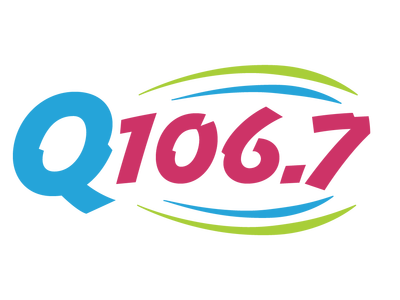 106.7 Radio Station Logo
