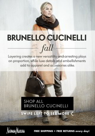 Brunello Cucinelli Wrap