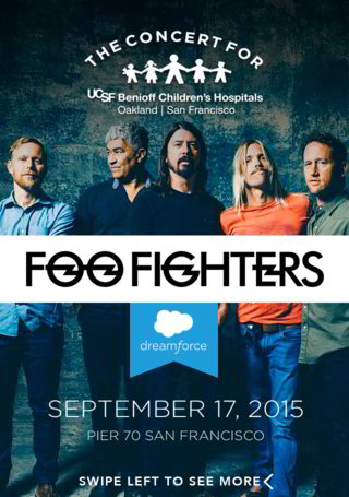 Foo Fighters Wrap