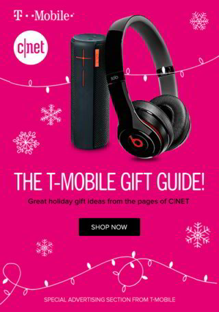 The T-Mobile Gift Guide Wrap