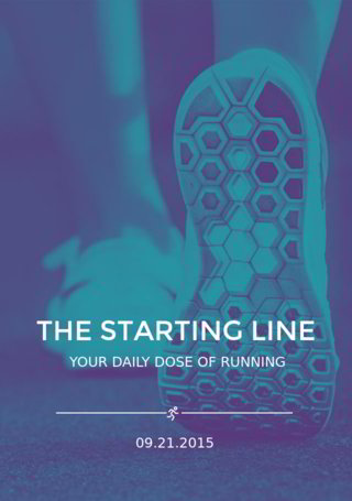 The Starting Line: Daily Dose of Running Wrap