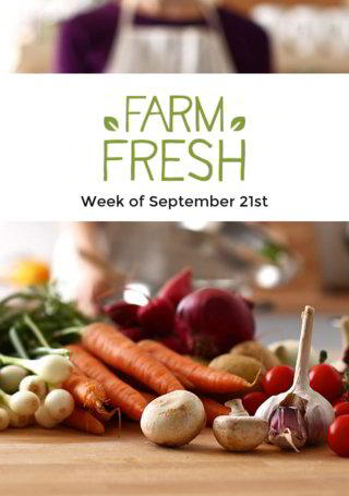 Farm Fresh: Week of Sept. 21st Wrap
