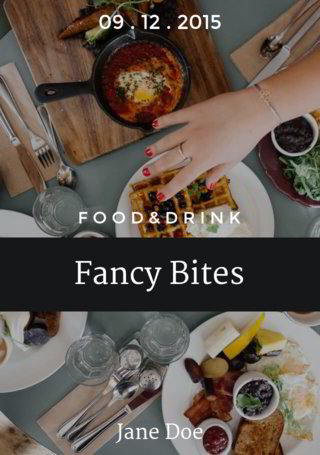 Food&Drink: Fancy Bites Wrap