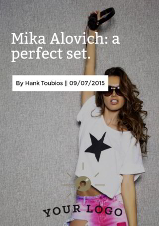 Mika Alovich: a perfect set Wrap