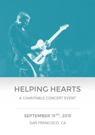 Helping Hearts: A Charitable ConcertWrap