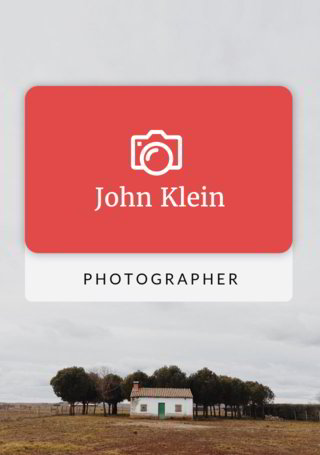 John Klein - Photographer  Wrap