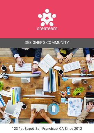 Createam: Designer's Community Wrap