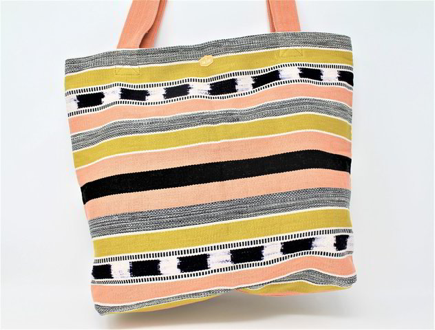 Zippered Tote / Antigua Sunrise