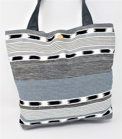 Zippered Tote / Tikal Gray