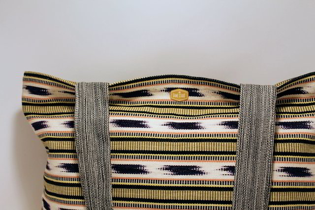 Zippered Tote / Pacaya Stripes
