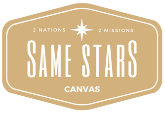 Same Stars Canvas
