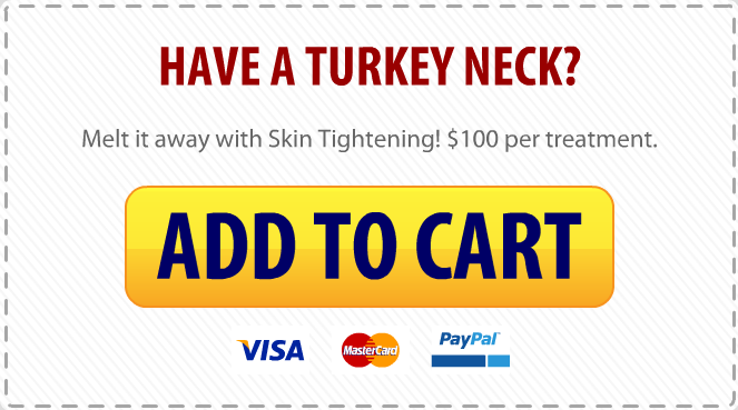 Turkey-neck button