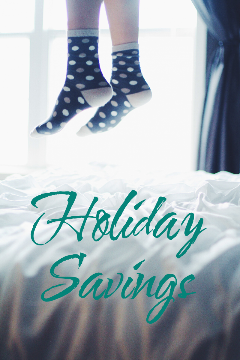Jump for Holiday Savings