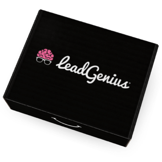 Eva Branded Box for Lead Genius