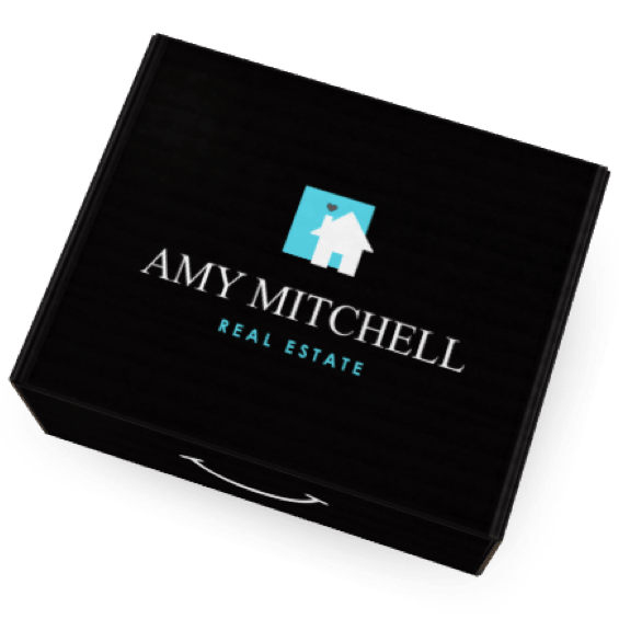 Eva Branded Box for Amy Mitchell