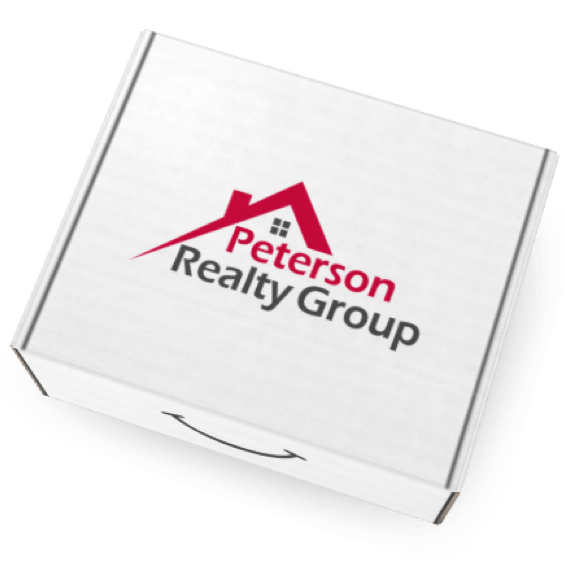 Eva Branded Box for Peterson Realty Group