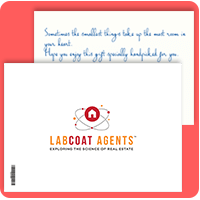 Eva Branded Postcard for LabCoat Agents