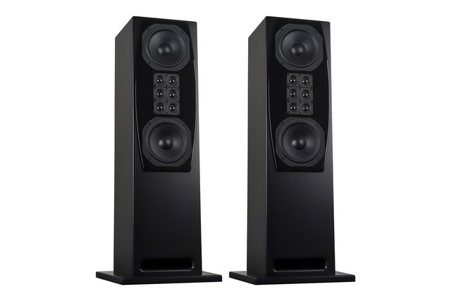 XTZ Cinema M8 Tower Matte Black (Pair)
