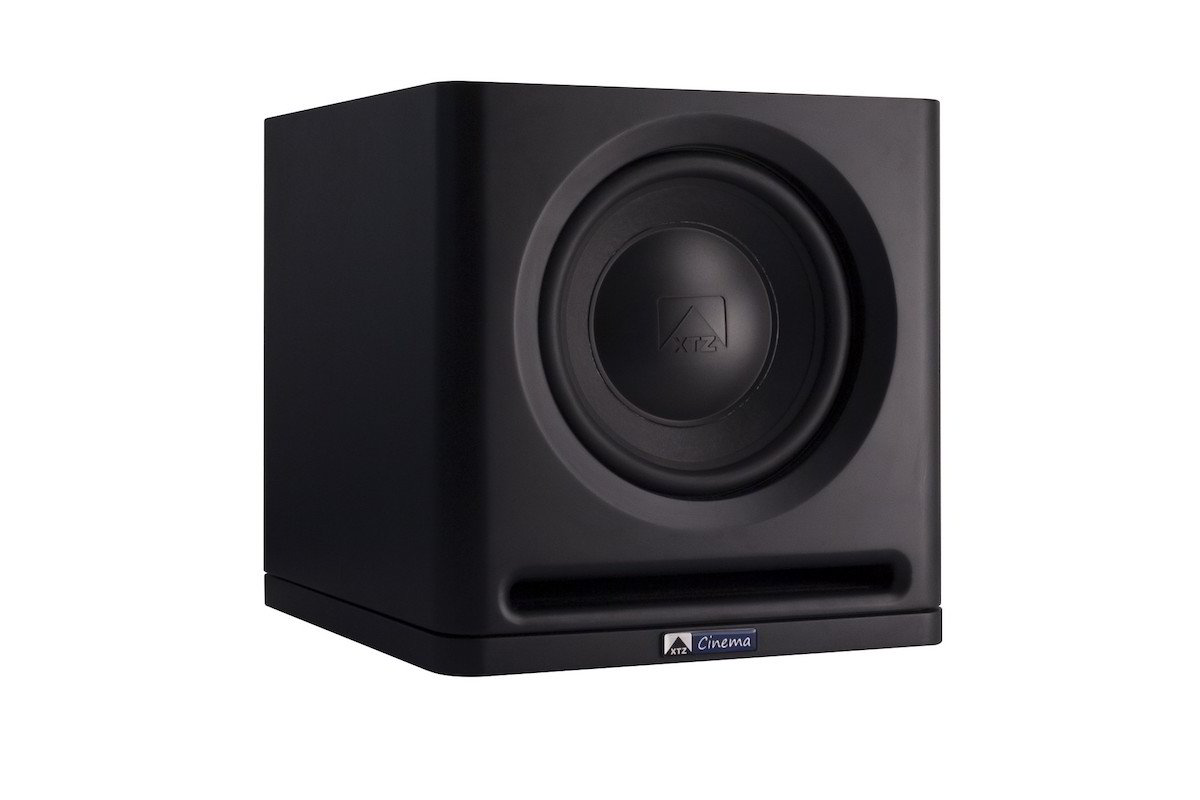 XTZ Cinema SUB 1X12 Matte Black