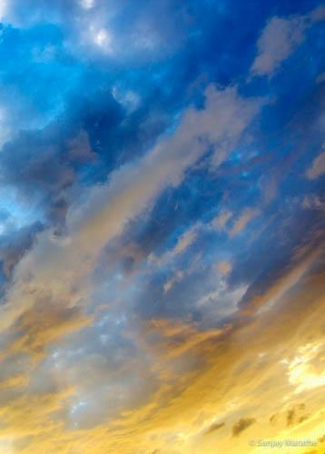 'Cloudscapes' limited edition art photograph by Sanjay Marathe