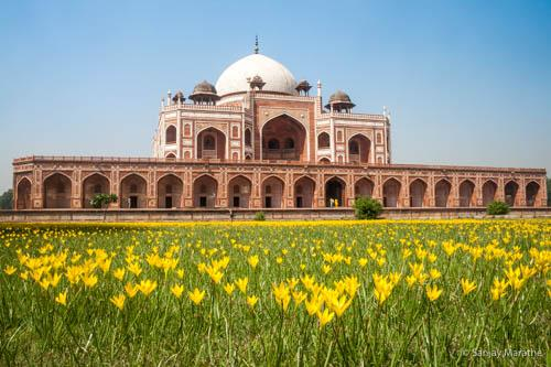 Delhi cityscapes limited edition art photograph of Humayun tomb by Sanjay Marathe